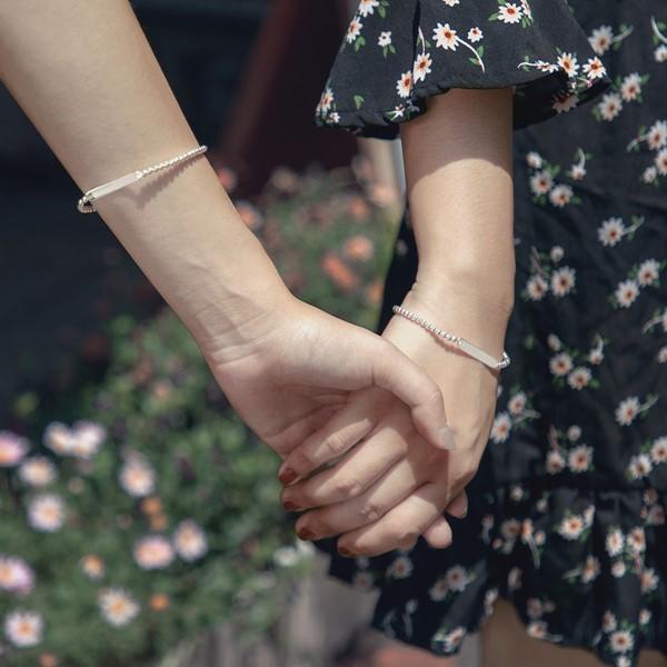姊妹心語-點滴回憶純銀串珠手鍊