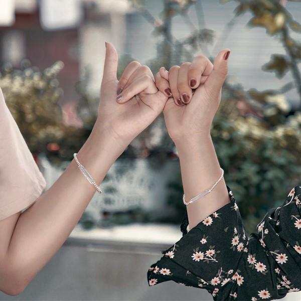 姊妹心語-點滴回憶串珠 純銀 女款手環/手鍊飾品