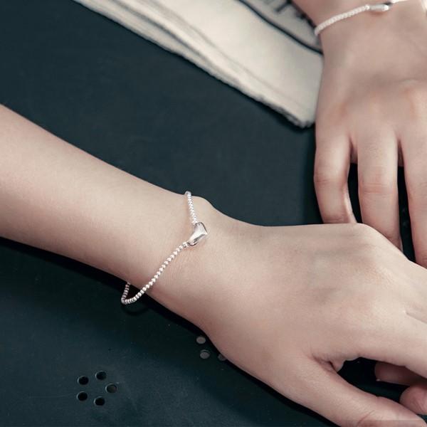 姊妹心語-純淨的夢想純銀串珠手鍊