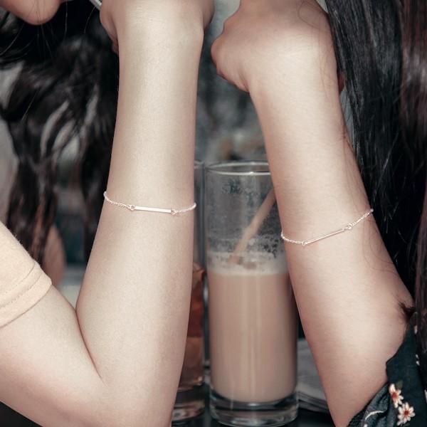 姊妹心語-心底的聲音純銀手鍊