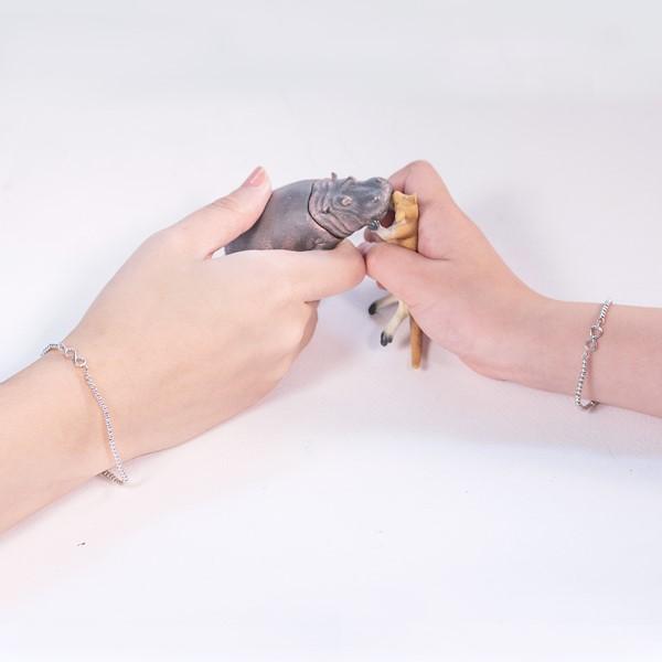 無限的力量串珠純銀手鍊-兒童款
