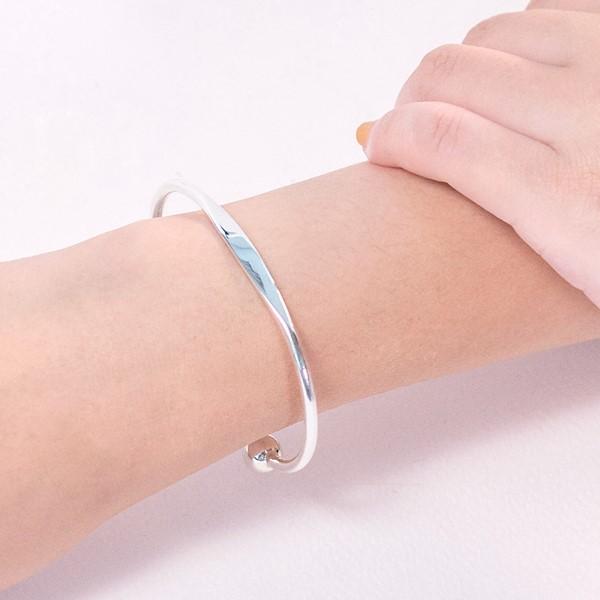 手心的溫度純銀活圍手環-女款