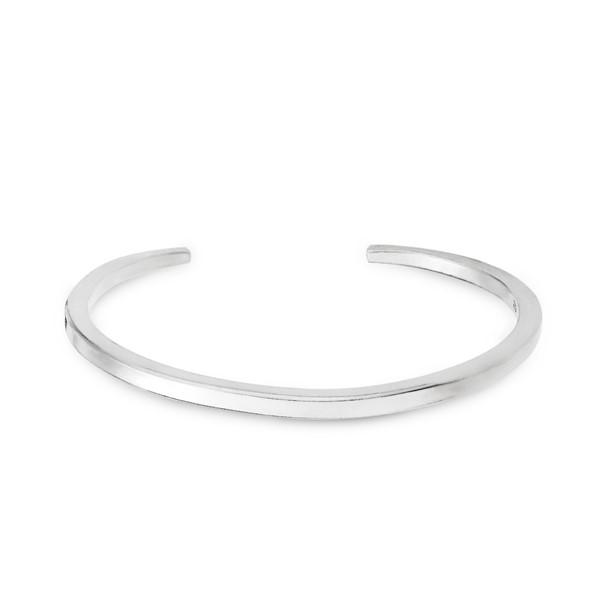 簡約之最純銀活圍手環