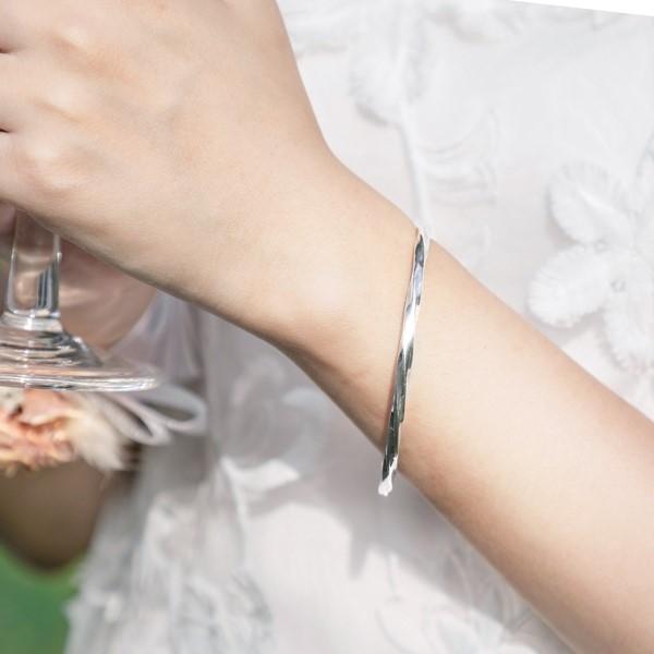 生命的轉輪純銀手環