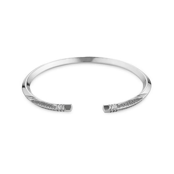 生命的重量純銀活圍手環