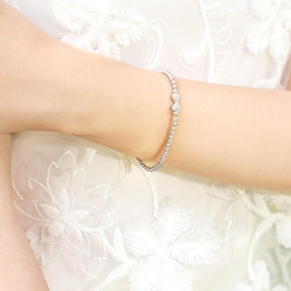 夢想的蝴蝶純銀串珠手鍊