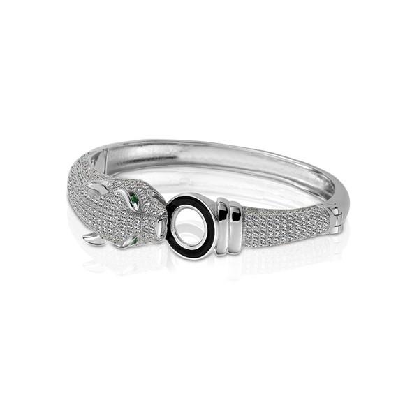 鑽豹 純銀 女款手環/手鍊飾品
