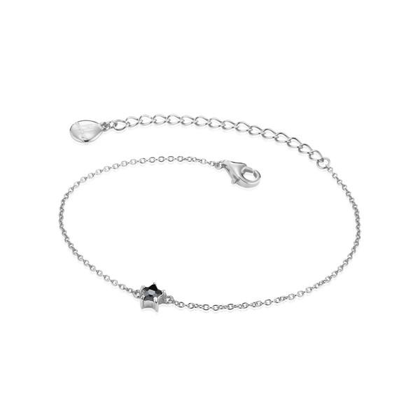 星星細緻 純銀 女款手環/手鍊飾品