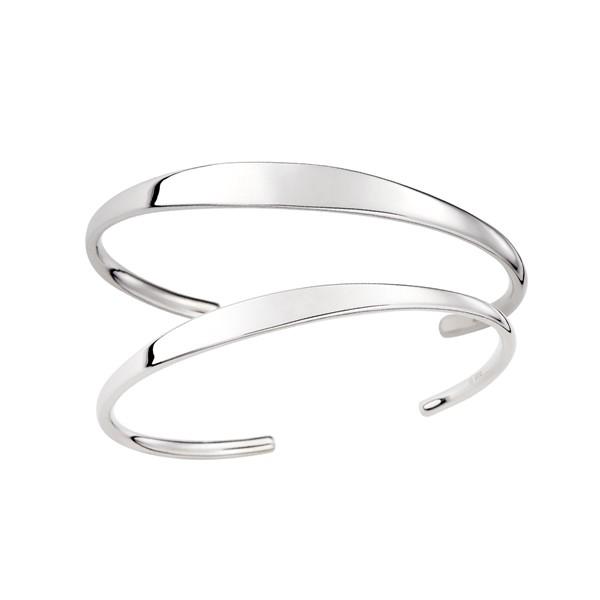 心之戀語素面款 純銀 情侶紀念手環/手鍊