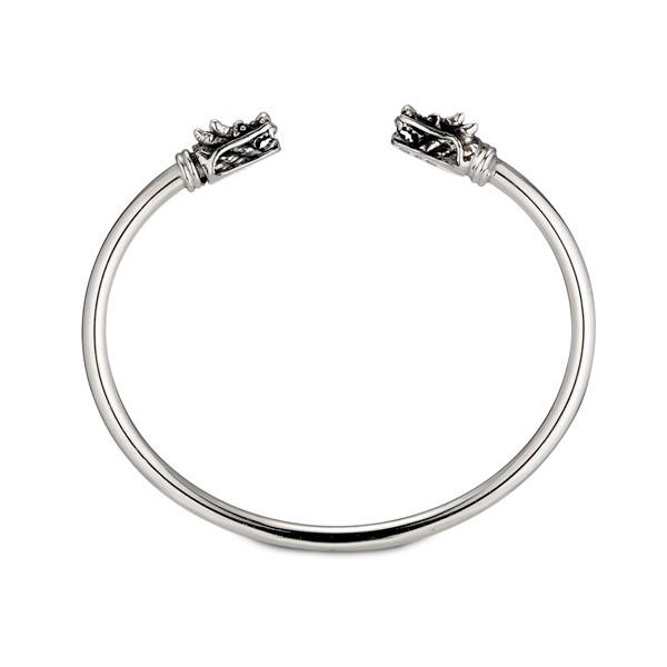 個性霸氣雙龍硫化手環