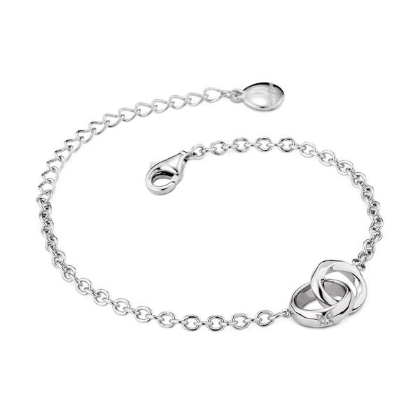 心心相繫 純銀 男款情侶紀念手環/手鍊飾品