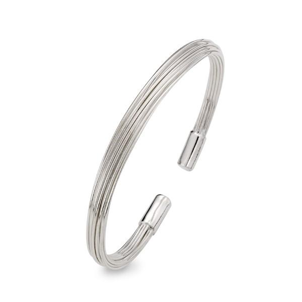 多層次線條 純銀 女款手環/手鍊飾品