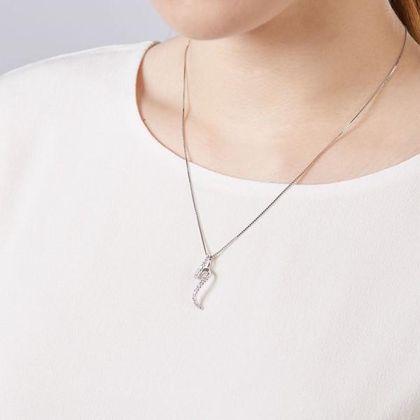 愛情海簡單時尚排鑽項鍊