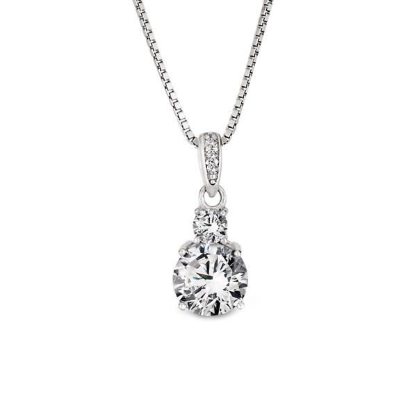 完美女王氣質 純銀 女款項鍊飾品