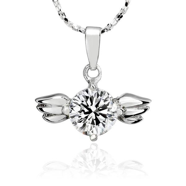 愛的天使璀鑽系列項鍊