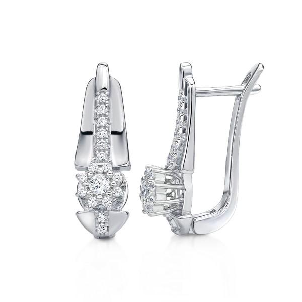 經典高貴奢華 純銀 女款耳環飾品