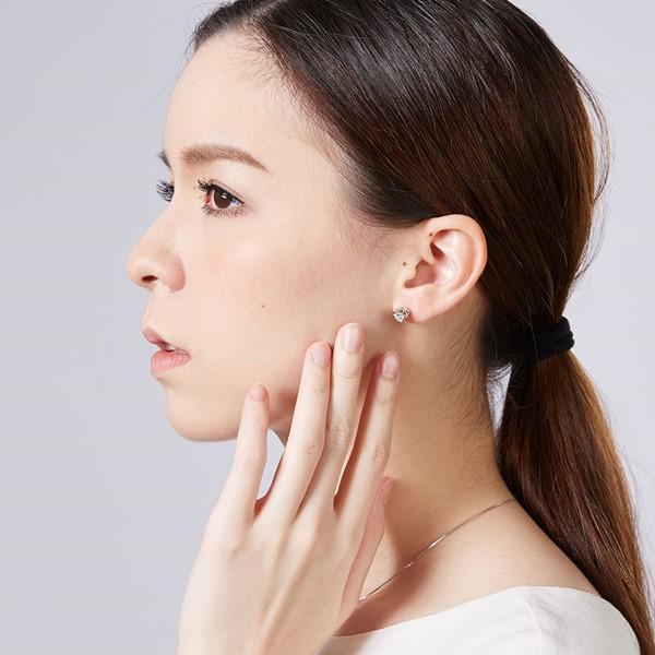 東京茱麗葉花型設計 純銀 女款耳環飾品