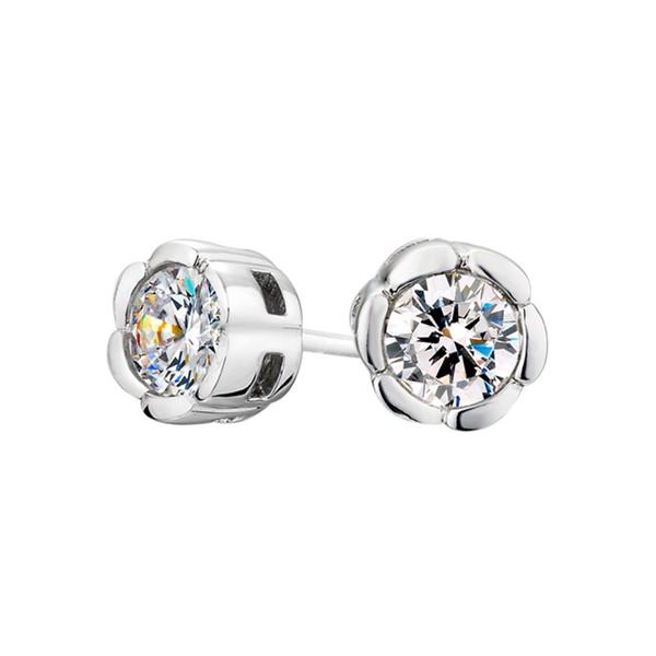 東京茱麗葉花型設計耳環/一對販售