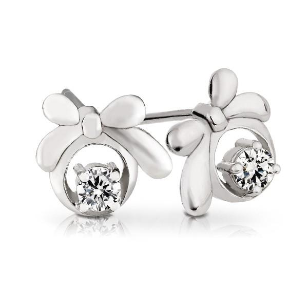 美鑽 純銀 女款耳環飾品