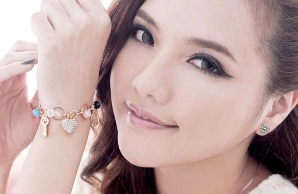 迷戀耳環美鑽 純銀 女款耳環飾品