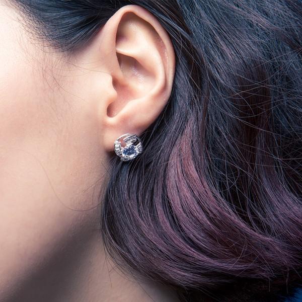 施華洛世奇元素耳環/一對販售