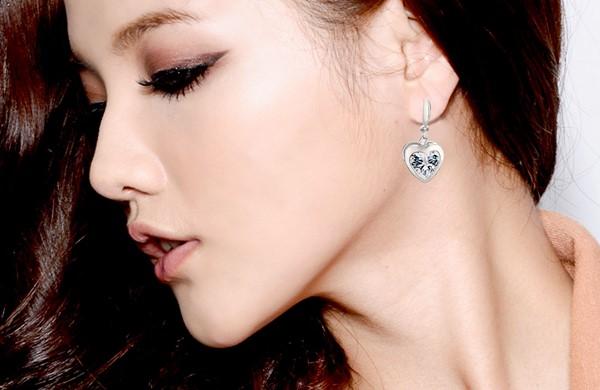擁抱愛 純銀 女款耳環飾品