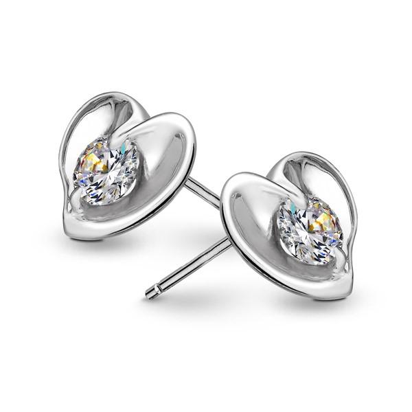 情竇初開 純銀 女款耳環飾品