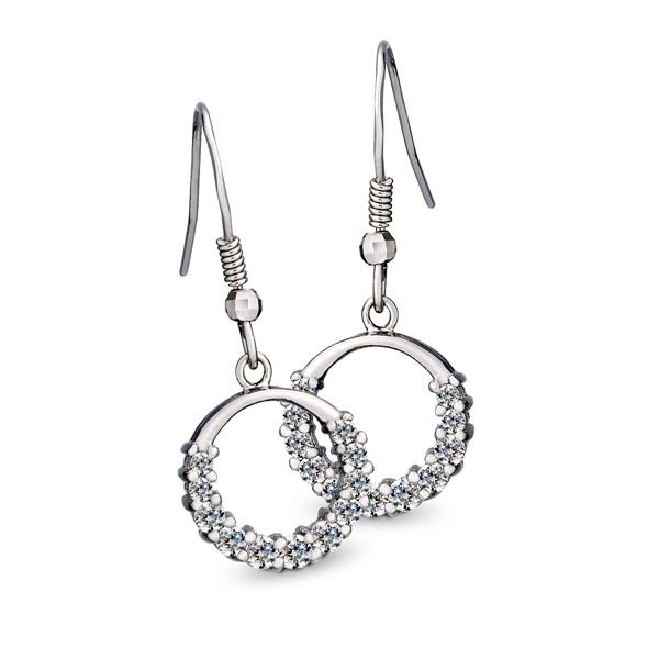 星環美鑽耳環/一對販售