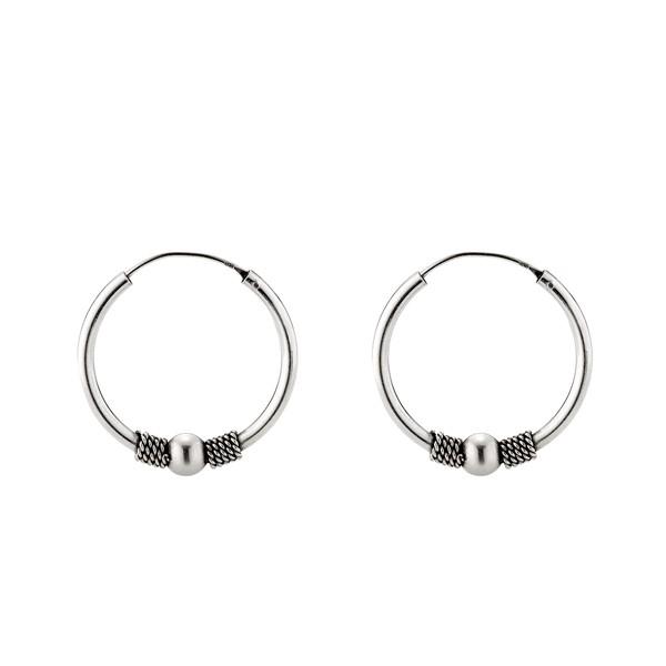 大器單珠麻花硫化耳環/一對販售