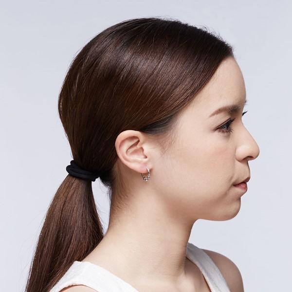 率性單珠掐絲硫化耳環/一對販售