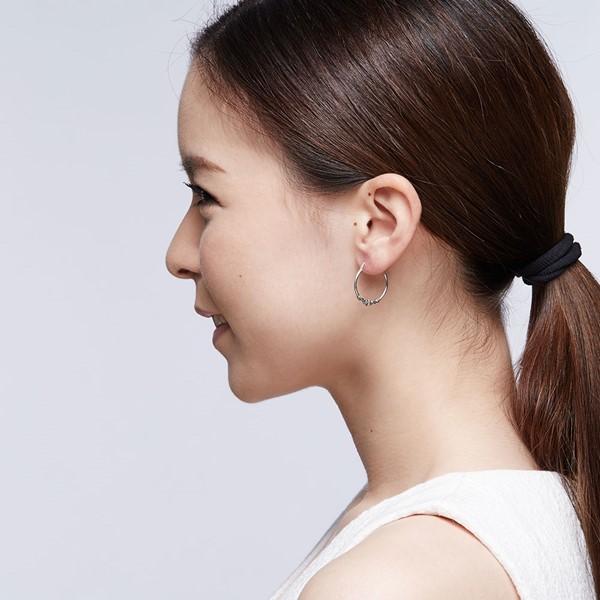 率性掐絲麻花硫化耳環/一對販售