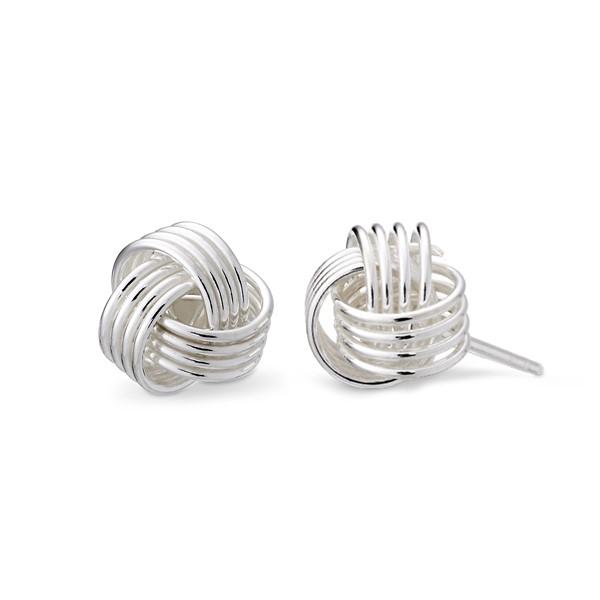 繽紛時光姊妹耳環|6x6mm/一對販售
