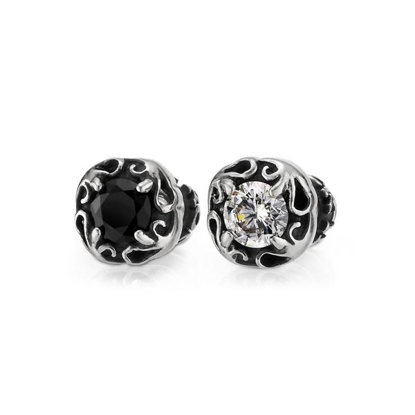 單鑽造型耳環/單隻販售