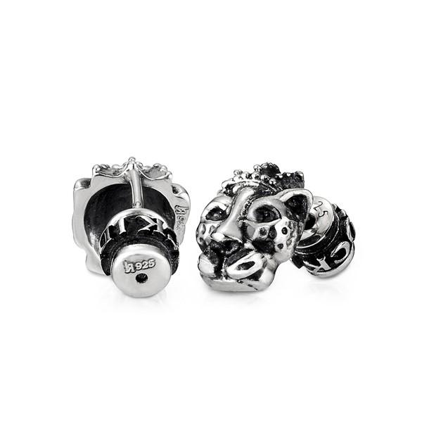 豹王造型耳環/單隻販售