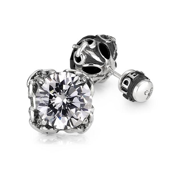 潮男造型單隻販售 純銀 男款耳環飾品