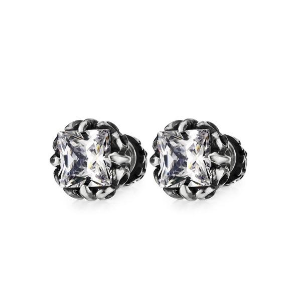 個性方爪耳環/單隻販售