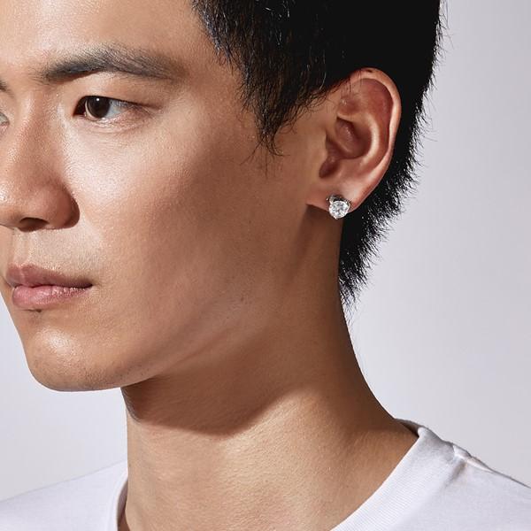 大鑽氣質耳環/單隻販售
