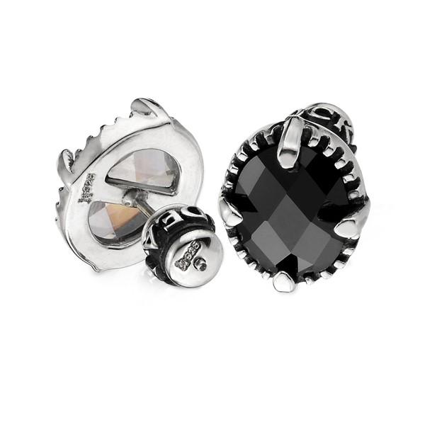 鏡子率性耳環/單隻販售