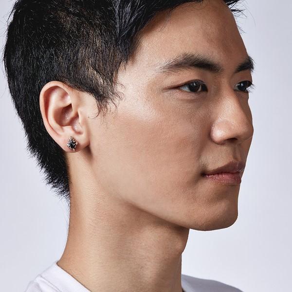 率性飛鏢單隻販售 純銀 男款耳環飾品