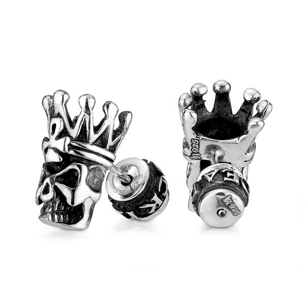 骷髏國王耳環/單隻販售