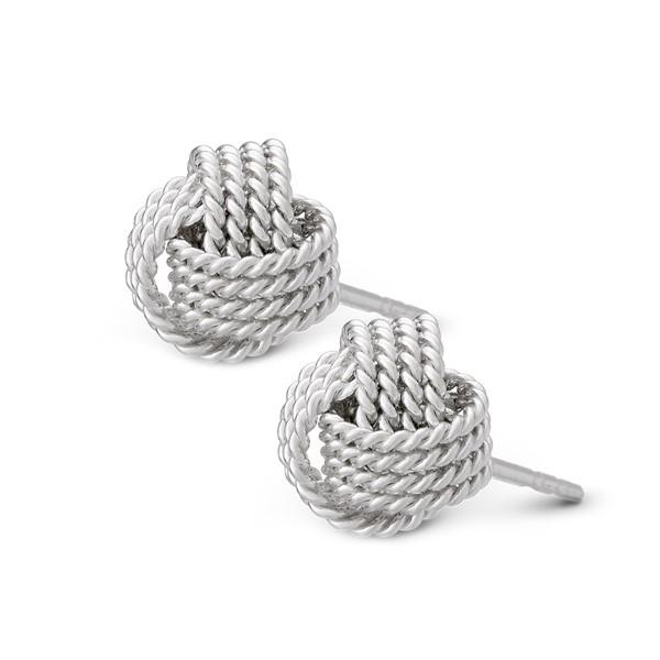 姊妹款繩結耳環/一對販售
