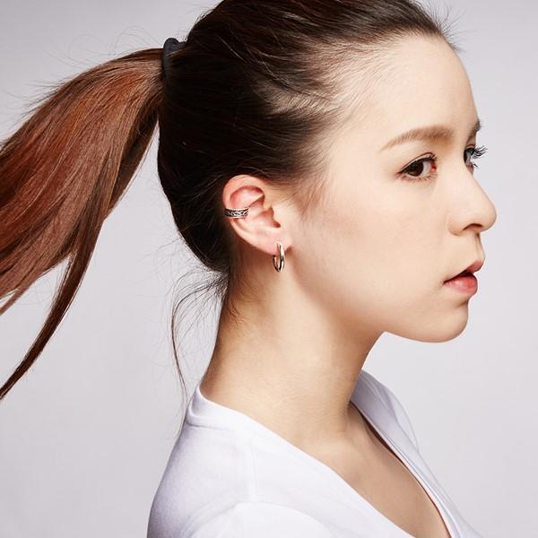 圓圈簡約耳環 | 2cm/一對販售