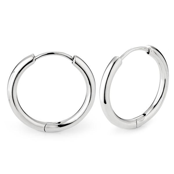 圓圈簡約耳環 | 2.5cm/一對販售