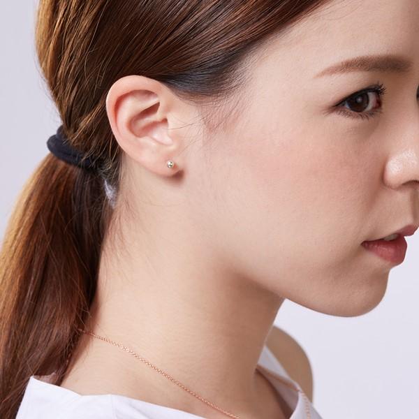 圓珠簡約耳環 | 0.4cm/一對販售