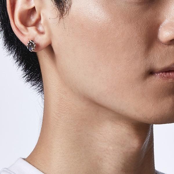 復古鑲邊造型個性耳環/單隻販售
