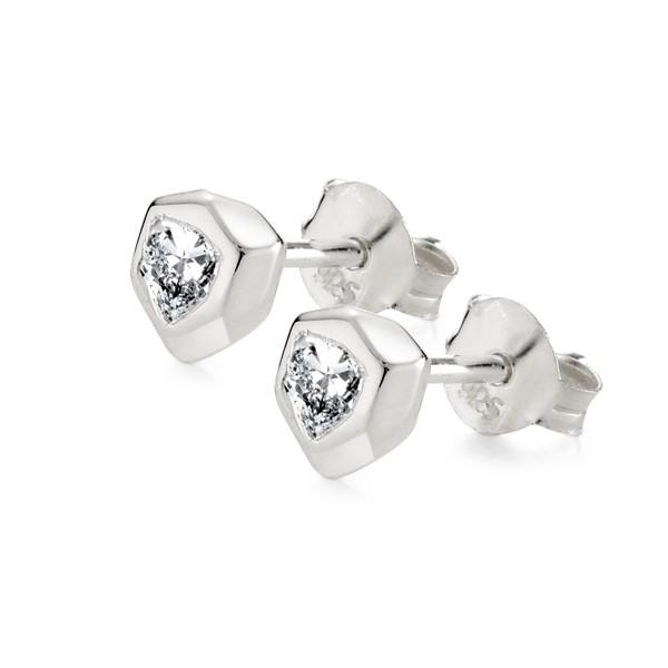 閃耀盾牌耳環/單隻販售