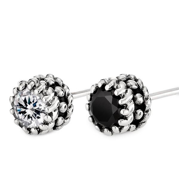 繩紋時代個性單隻販售 純銀 男款耳環飾品