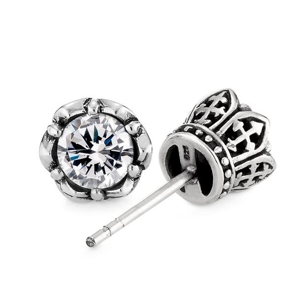 王之侍個性單隻販售 純銀 男款耳環飾品