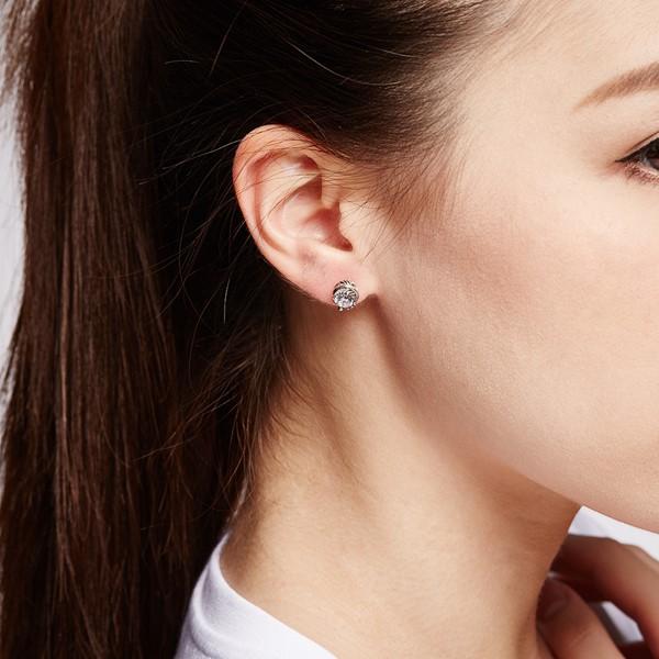 草葉造型個性耳環/單隻販售
