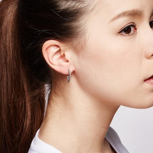 經典麻花-麻花個性耳環/一對販售